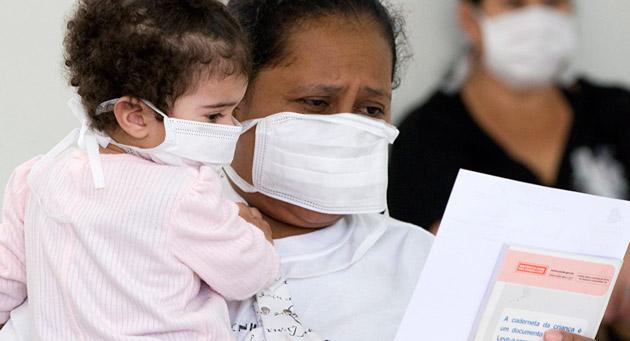 Brasil já registra 230 mortes por H1N1 em 2016