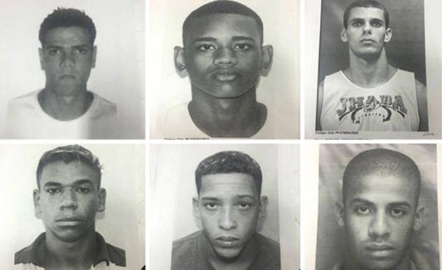 Além de mandados de prisão, a polícia também busca computadores e celulares na casa dos suspeitos. As buscas são realizadas na Cidade de Deus, Taquara, Recreio, Favela do Rola e Praça Seca.