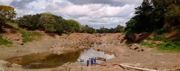 Itabuna: Rio Cachoeira registra maior seca dos últimos tempos