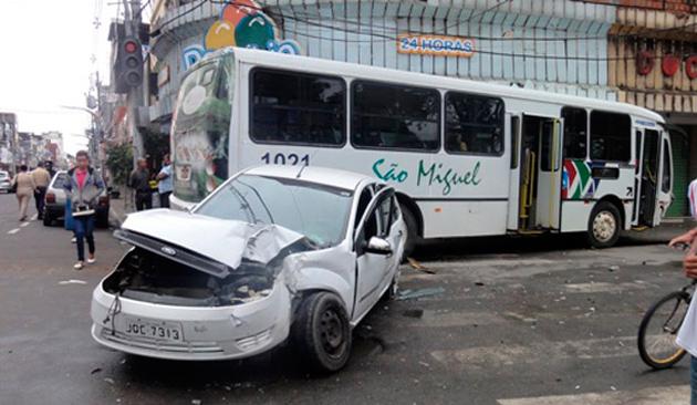 Itabuna está entre as cidades com maiores índices de acidentes de trânsito na Bahia