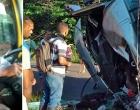 Ituberá: Motorista morre após caminhão carregado de cacau tombar na BA-001