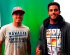 Adriano de Souza e Filipe Toledo desembarcam em Itacaré para participar das gravações da Série Juacas