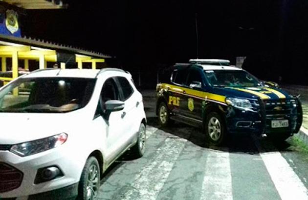 Itabuna: Acusados de tráfico de drogas são presos com veículo roubado