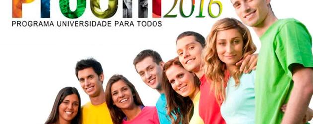 Inscrições para o Prouni começam no dia 7 de junho
