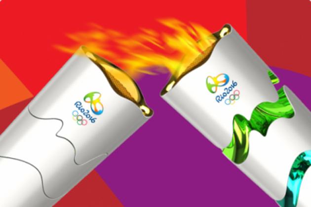 Chama Olímpica chega ao Brasil; roteiro da tocha inclui sul da Bahia