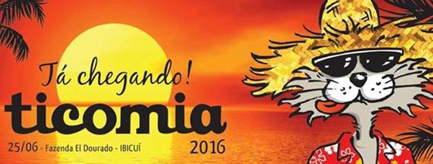 Programação do Forró TicoMia 2016