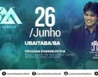 Show evangélico em Ubaitaba com o cantor Samuel Mariano, nesse domingo (26)