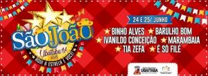 São João de Ubaitaba:  Começa nessa sexta-feira (24); confira a programação