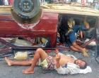 Ubaitaba: Acidente na Br 101 deixa 4 vítimas fatais e dois feridos. Veja vídeo
