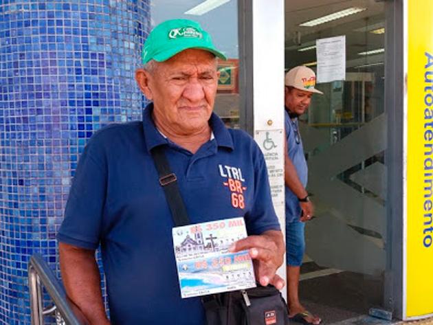 'Acabei em seis meses', revela homem que ganhou R$ 2 milhões na loteria