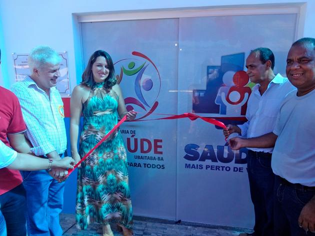 Secretaria de Saúde e Prefeitura de Ubaitaba inaugura Unidade de Saúde de Faisqueira