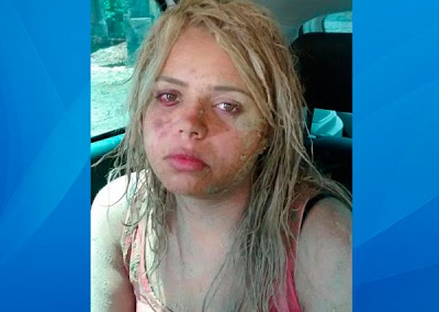 Grávida feita refém pelo namorado é suspeita de quatro assaltos a bancos
