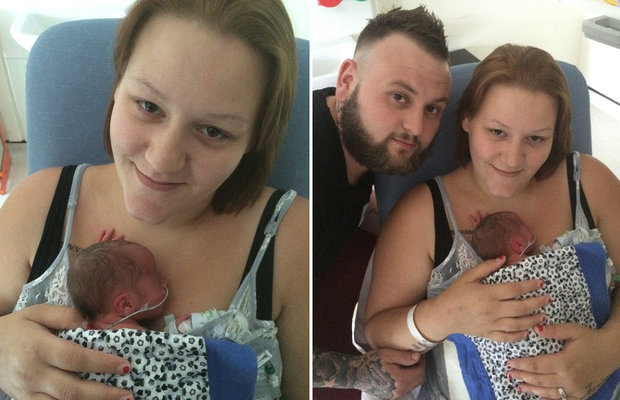 Um caso totalmente inusitado aconteceu durante um parto na Inglaterra. Depois de 36h em trabalho de parto, Amber Hughes foi submetida a uma cesárea de emergência, mas os médicos não encontraram seu filho.