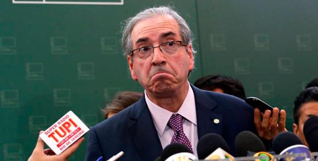 Procuradores do MPF aceitariam delação de Eduardo Cunha, diz coluna