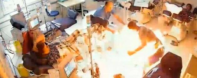 Homem invade hospital para matar rival e causa incêndio
