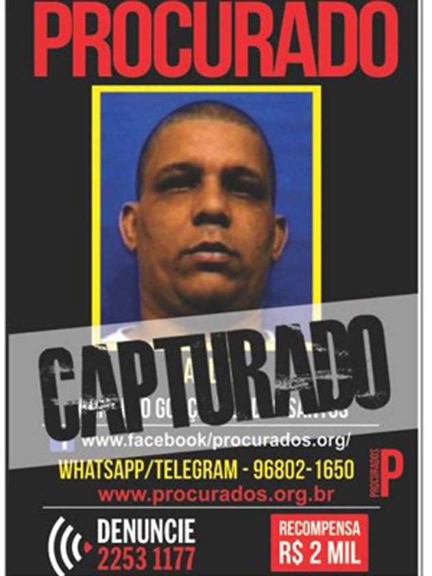 PF prende suspeito de comandar tráfico em morro de Niterói, RJ