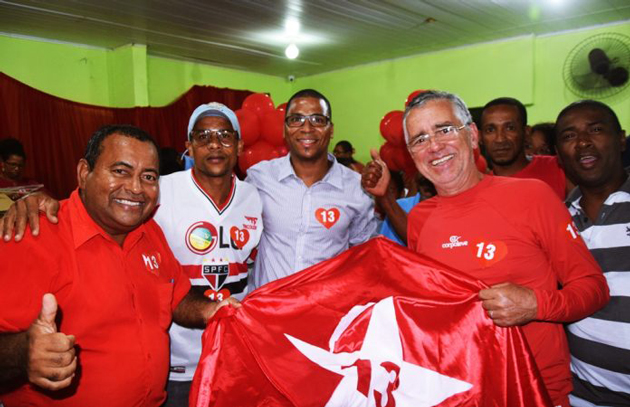 Convenção do PT oficializou a candidatura de Antônio de Anízio e Genilson á prefeitura de Itacaré