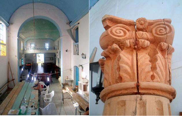 Ipac encontra cerâmica jesuíta na igreja de São Miguel em Itacaré