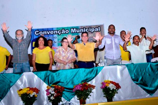 Convenção do PSD oficializa candidatura de Isravan à reeleição em Ibirapitanga