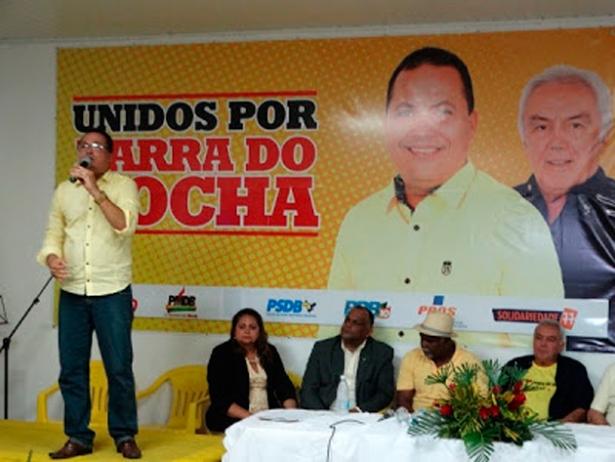 Convenção do PSB oficializa candidatura do Professor Léo a prefeito de Barra do Rocha