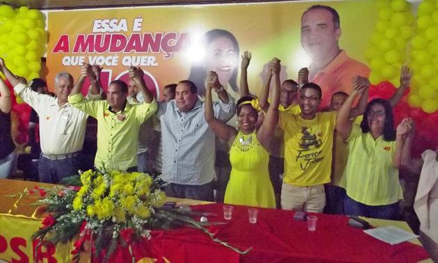 """Ubaitaba: Suka e Jailton mostram força em Convenção Municipal da coligação """"Mudança Já!"""""""