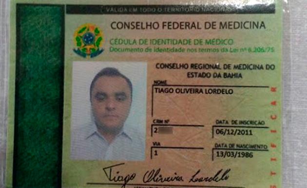 'Médico' com CREMEB falso é preso em hospital de Iramaia