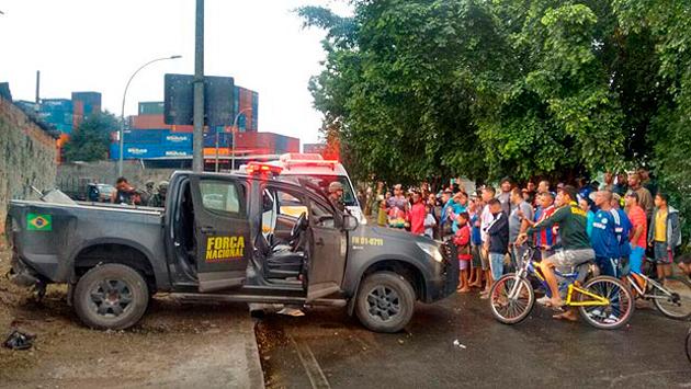 Olimpíadas: Policiais da Força Nacional são baleados por traficantes no Rio de Janeiro