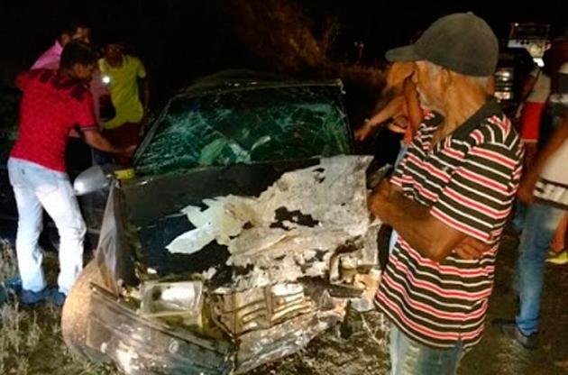 Batida entre carros deixa dois mortos e sete feridos no norte da Bahia