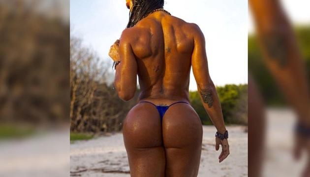 Gracyanne Barbosa chama atenção com corpo super malhado: 'Você é uma inspiração'