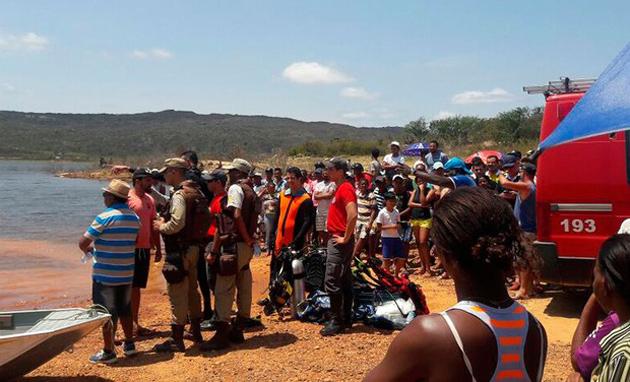 Bombeiros encontram corpos desaparecidos em barragem na Chapada Diamantina