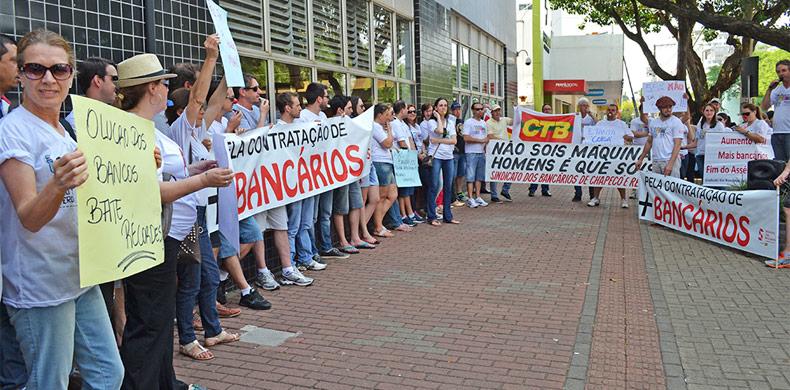 Paralisação dos bancários completa 21 dias e sem previsão de acordo