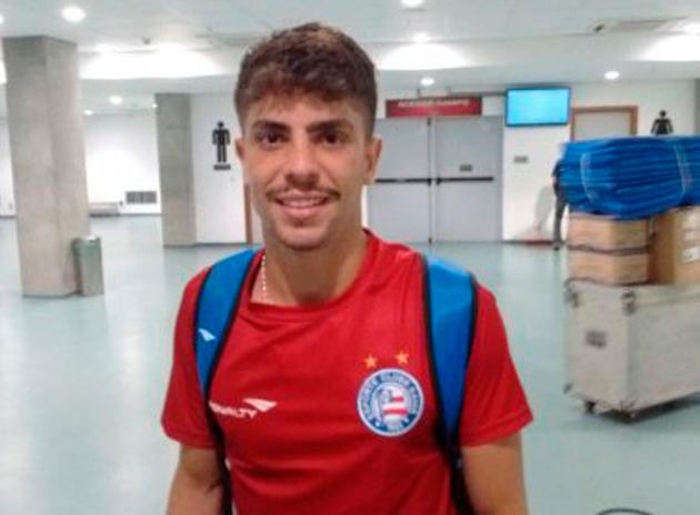 Bahia anuncia empréstimo de Luisinho para clube árabe