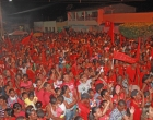 Paulo Bidu e Mary atraem grande público no comício em Faisqueira