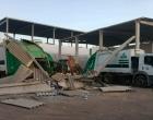 Funcionário de galpão morre após imóvel desabar na Bahia