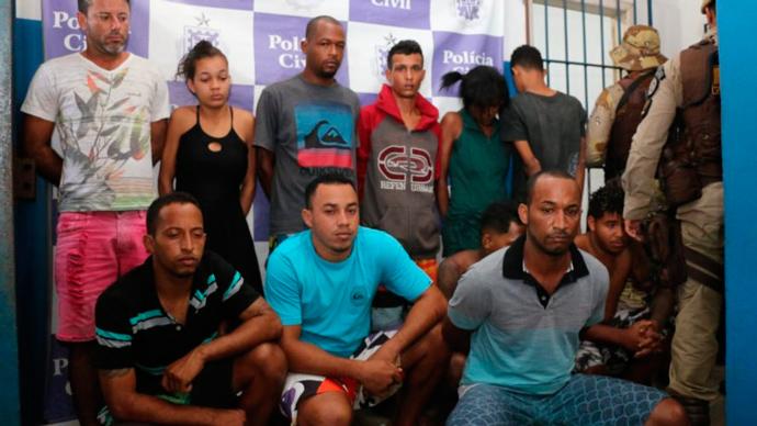Adolescente é morto e 17 são presos em operação de combate ao tráfico de drogas no sul da Bahia