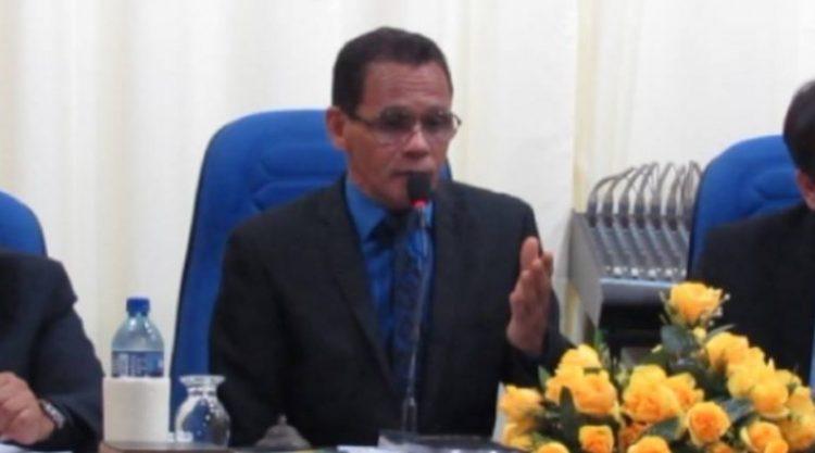 Camamu: Vereador Enoc Souza é reeleito Presidente da Câmara