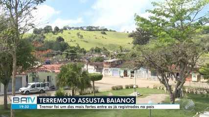 Moradores relatam novos tremores de terra na Bahia; sismólogo confirma casos