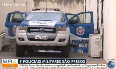 Seis PMs são presos por suspeita de extorsão e sequestro em Salvador
