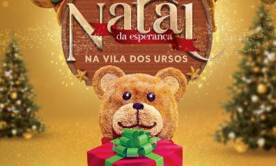 """Shopping Jequitibá inicia o """"Natal da esperança na Vila dos Ursos"""""""